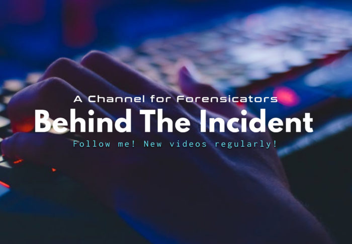 Behind The Incident – Episode 1 : Take Care of yourself