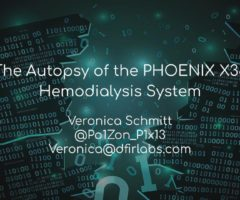 The Autopsy of the PHOENIX X36 Hemodialysis System